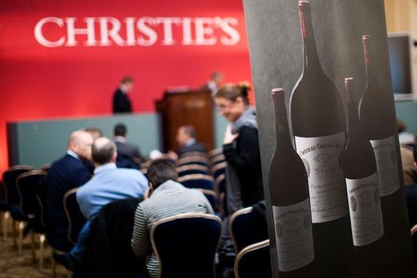 葡萄酒拍卖市场沉浮录