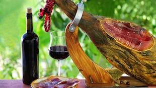 葡萄酒与火腿的契合