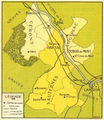 苏岱和巴萨克 Sauternes & Barsac 的分级制度