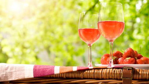 粉红(桃红)葡萄酒