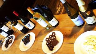 巧克力与葡萄酒的时尚搭配