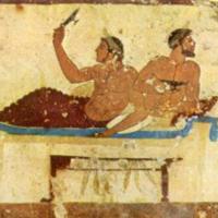 古希腊宴会上的酒桌游戏
