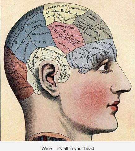 新研究:品味葡萄酒,用的是脑袋不是舌头!