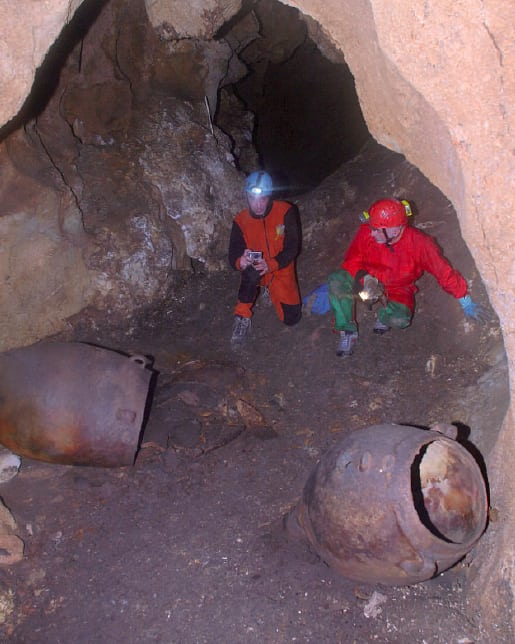 意大利一洞穴惊现最古老葡萄酒:距今6000余年