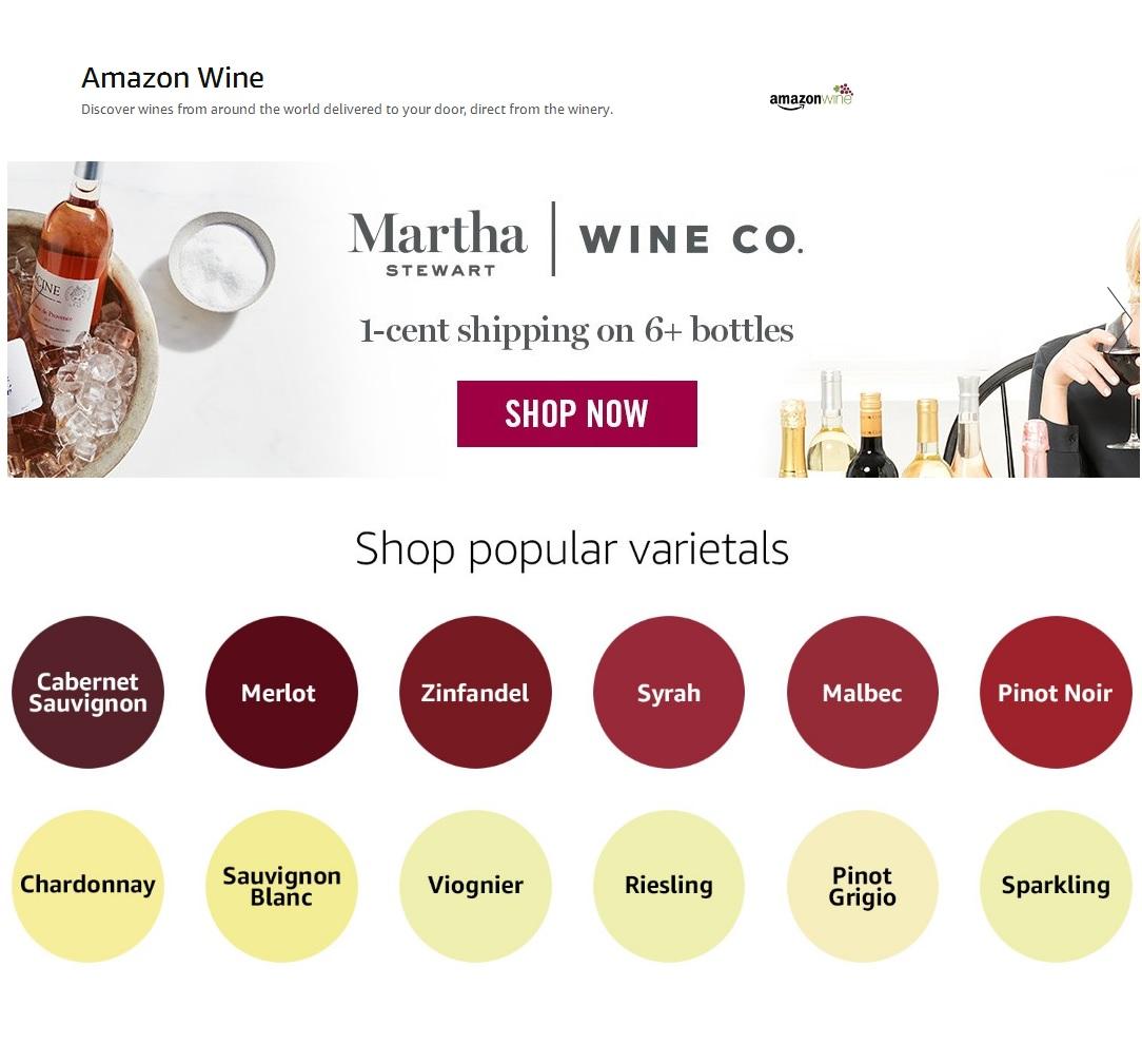 昨日,亚马逊通过邮件告知平台上的葡萄酒供应商,其葡萄酒业务 Amazon Wine 将于今年年底关闭。