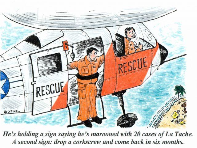 四幅葡萄酒漫画家Doug Pike最新漫画,只有懂酒的人才能看懂其中笑点