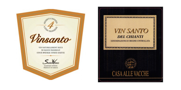 Vinsanto,与神圣无关,与甜蜜有染