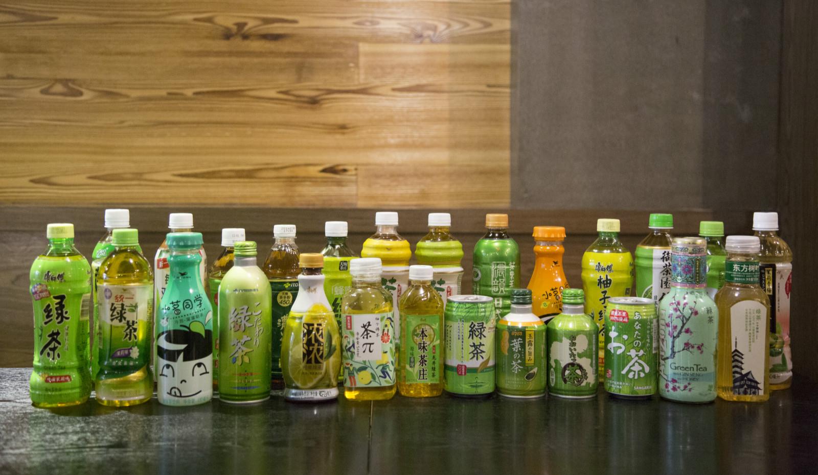 绿茶BIAO的大审判!史上最全面的绿茶饮料测评