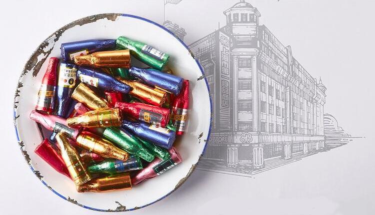 你的童年回忆里,一定有颗酒心巧克力