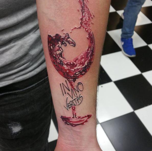 纹身&红酒:刺入骨血的热爱!