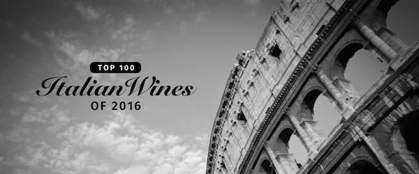James Suckling 2016年度百大意大利葡萄酒排行榜