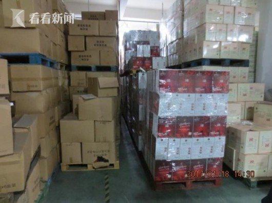 上海警方搜获两万瓶假酒价值80万
