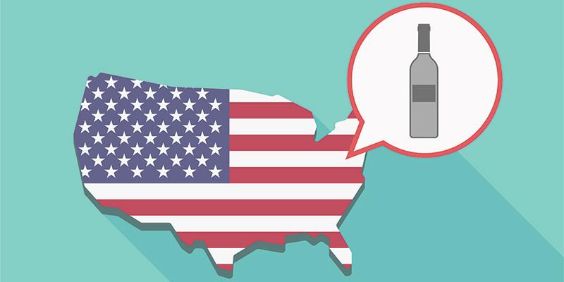 真爱啊!去年美国人总共喝掉了42.4亿瓶葡萄酒!