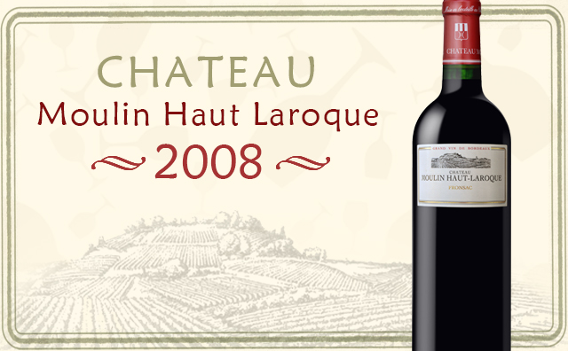 【神之水滴】Chateau Moulin Haut Laroque