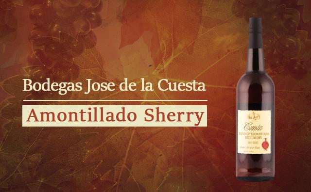 【精品直供】Bodegas Jose de la Cuesta Amontillado Sherry