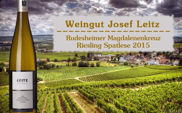 【超爆口粮】Weingut Josef Leitz Rudesheimer Magdalenenkreuz Riesling Spatlese 2支套装