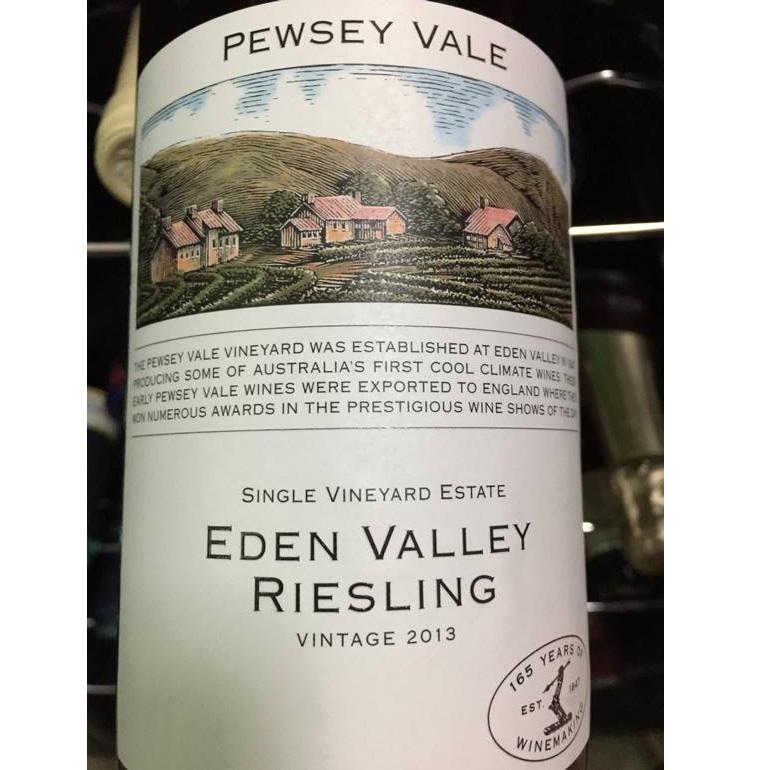 【九把刀切豆腐的藏品私拍】Pewsey Vale Riesling,Eden Valley 2013