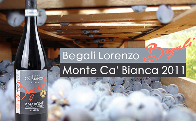 【年年三杯】Begali Lorenzo Monte Ca'Bianca Amarone della Valpolicella Classico