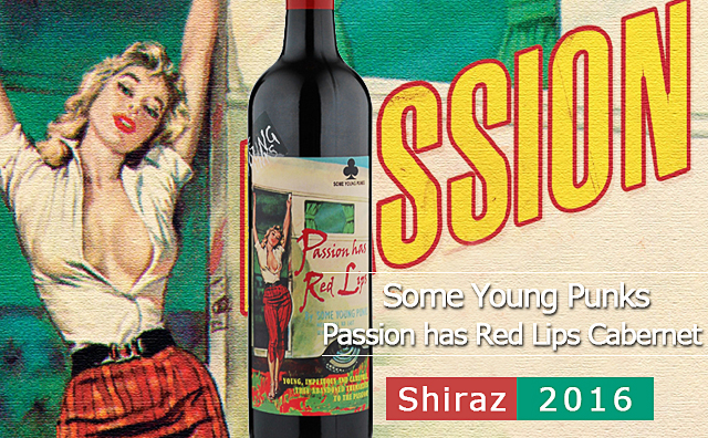 【烈焰红唇】Some Young Punks Passion has Red Lips Cabernet Shiraz