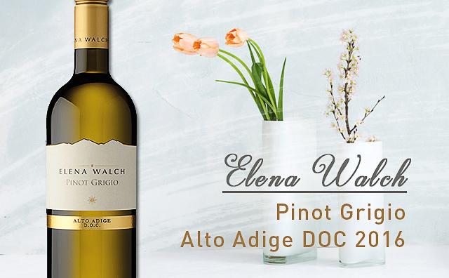 【大红虾星级名庄】Elena Walch Pinot Grigio Alto Adige 2016