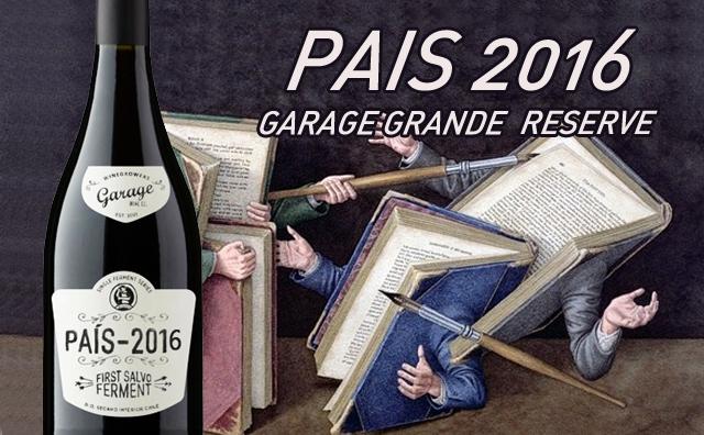 【智利车库酒】Garage Grande Reserve Pais 2016 双支套装