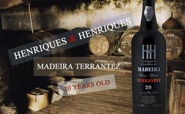 【珍酿】Henriques & Henriques 20 Years Old Madeira Terrantez 金奖学霸