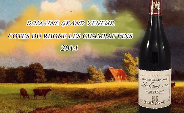 【无敌性价比】Domaine Grand Veneur Cotes du Rhone Les Champauvins 双支套装