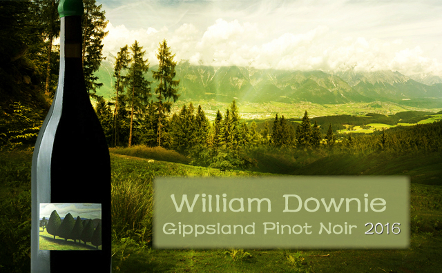 【世图推荐】William Downie Gippsland Pinot Noir 2016