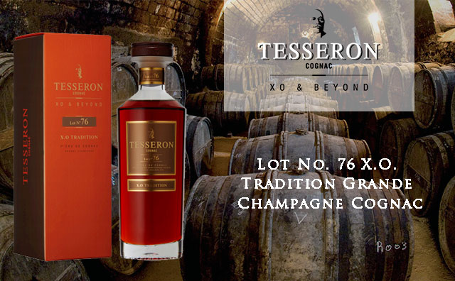 【奢华现货】Tesseron Lot No. 76 X.O. Tradition Grande Champagne Cognac 水晶礼盒装