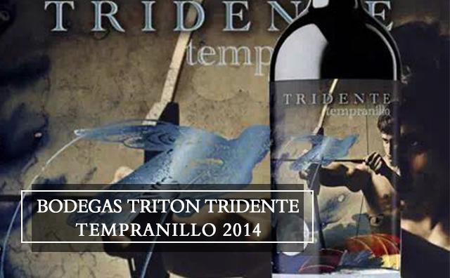 【百年老藤】Bodegas Triton Tridente Tempranillo Vino de la Tierra de Castilla y Leon