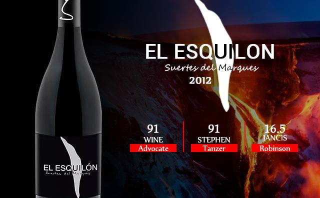 【火山佳酿】Suertes del Marques El Esquilon 2012