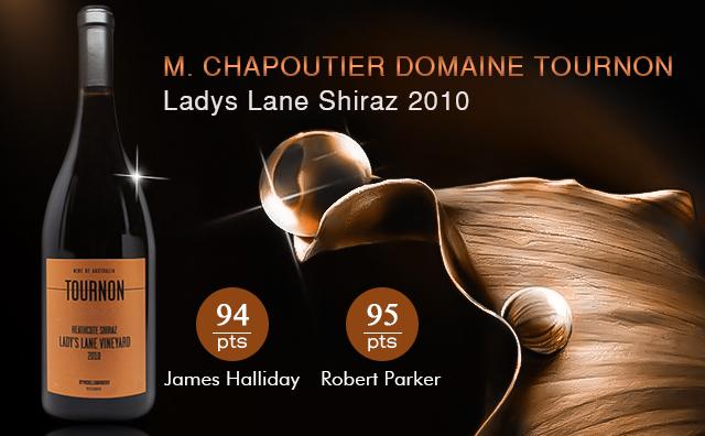 【大牌佳酿】M. Chapoutier Domaine Tournon Ladys Lane Shiraz 2010
