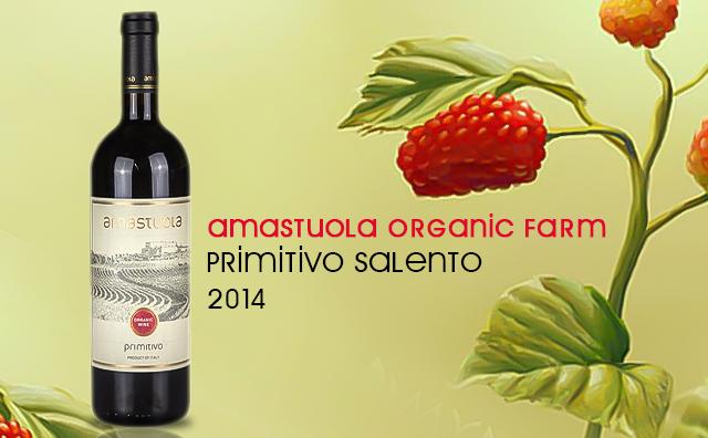 【惊喜口粮】Amastuola Organic Farm Primitivo Salento
