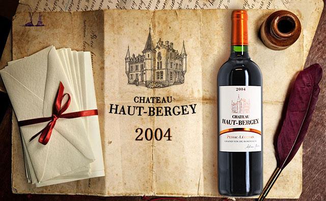 【左岸名庄】Chateau Haut-Bergey 2004