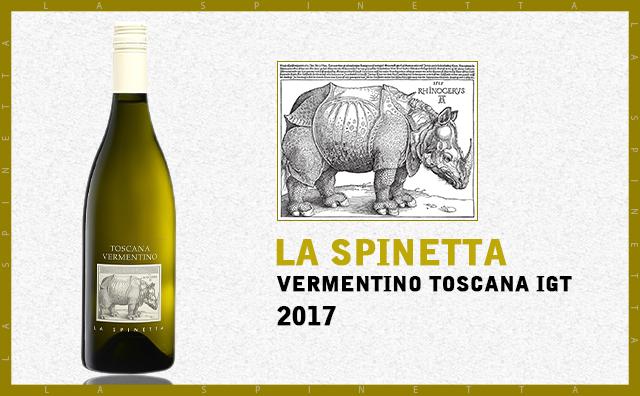 【新鲜白犀牛】La Spinetta Vermentino Toscana 2017