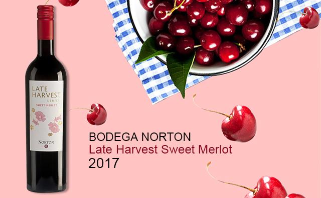 【名家甜心】Bodega Norton Late Harvest Sweet Merlot 2017