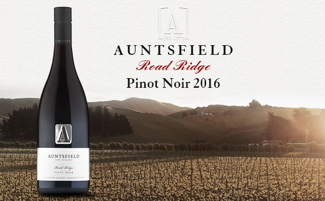 【名家单一园】Auntsfield Road Ridge Pinot Noir 2016