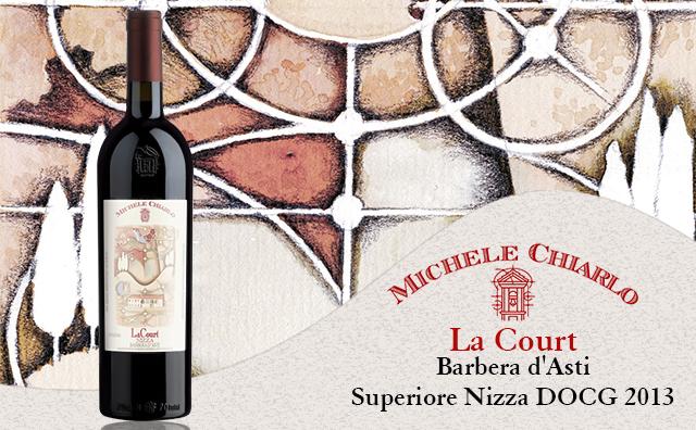 【三杯力荐】Michele Chiarlo 'La Court' Barbera d'Asti Superiore Nizza DOCG 2013