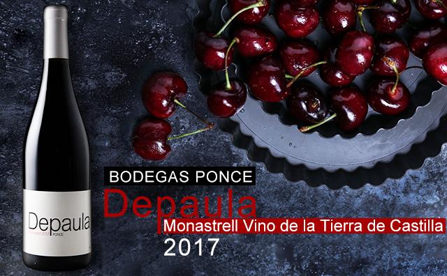 【超值餐酒】Bodegas Ponce Depaula Monastrell Vino de la Tierra de Castilla 2017 双支套装