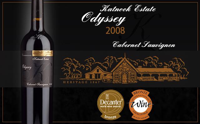 "【全场""醉""佳】Katnook Estate Odyssey Cabernet Sauvignon 2008"