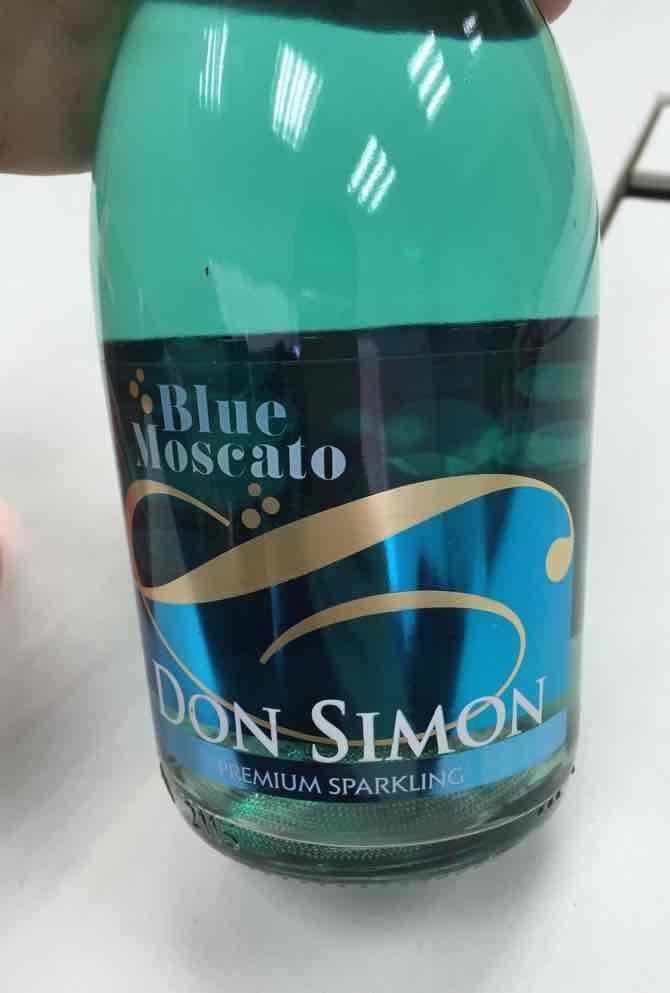 希梦谜蓝起泡Don Simon Charmat Blue Moscato