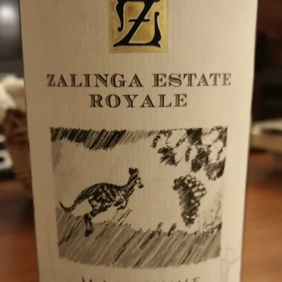 Zalinga Estate Royale Classic Reserve Shiraz