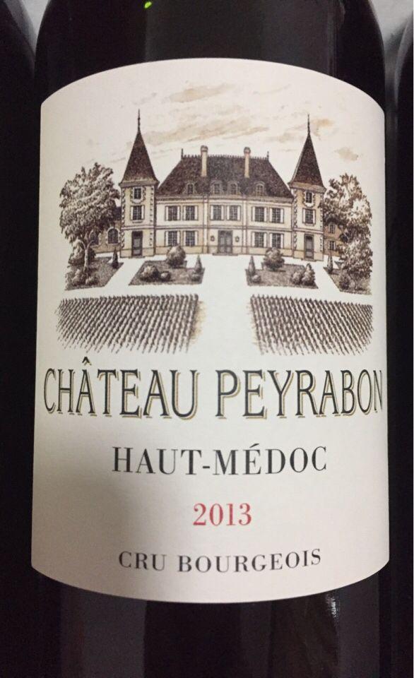 佩雷恩城堡干红Chateau Peyrabon