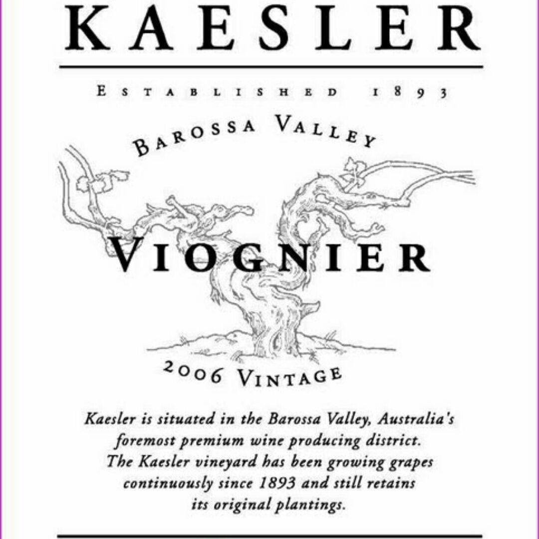 凯斯勒维欧尼干白Kaesler Viognier