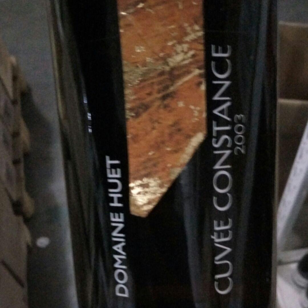 Domaine Huet Vouvray Cuvee Constance Moelleux