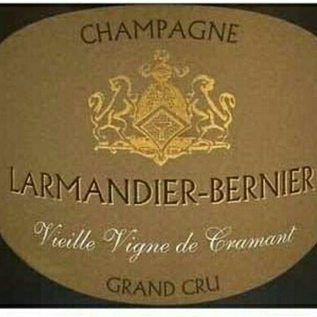 伯尼尔维涅斯高级克拉芒园绝干型香槟Larmandier-Bernier Vieilles Vignes de Cramant Grand Cru Extra Brut
