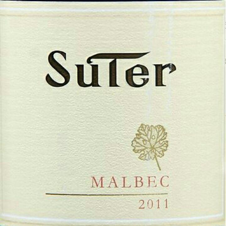 苏特庄园马尔贝克干红Suter Malbec
