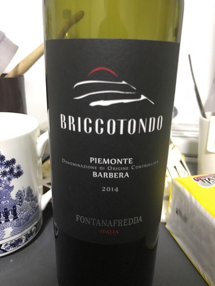 方达娜福达普瑞多巴贝拉干红Fontanafredda Briccotondo Barbera