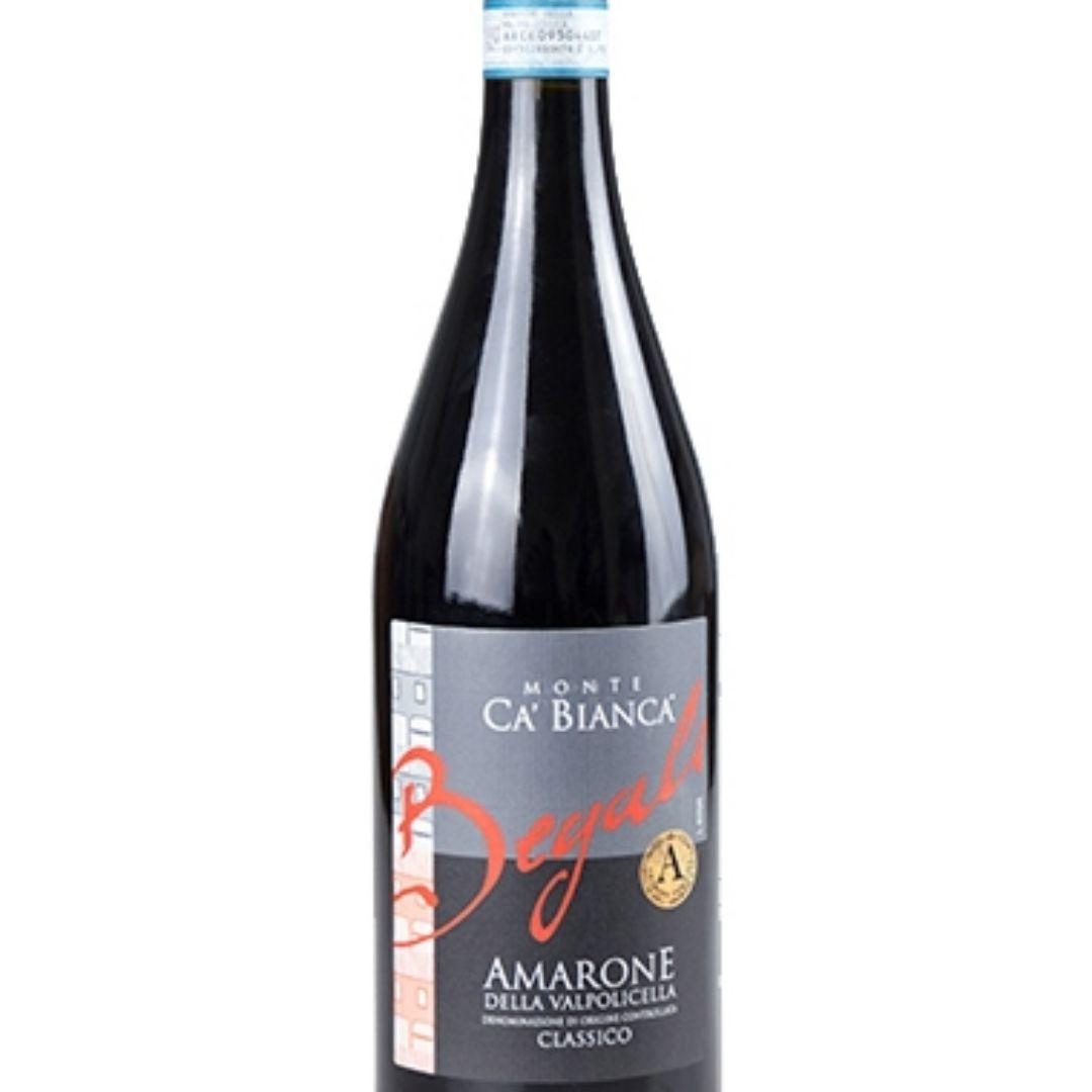 贝加里酒庄白山居红葡萄酒Monte Ca'Bianca Amarone del Valpolicella Classico