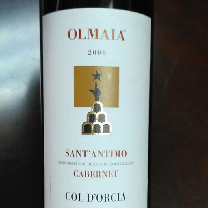 科尔多奇亚酒庄榆树园赤霞珠干红Col D'Oorcia Olmaia Cabernet Sauvignon